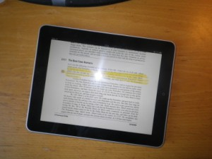 iPad highlighting