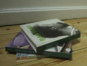 raw food bøger