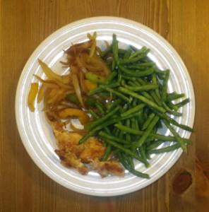 kød og grøntsager kur