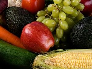 raw food grøntsager