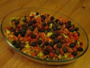 raw food salat