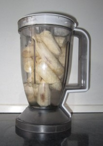 raw food banan shake