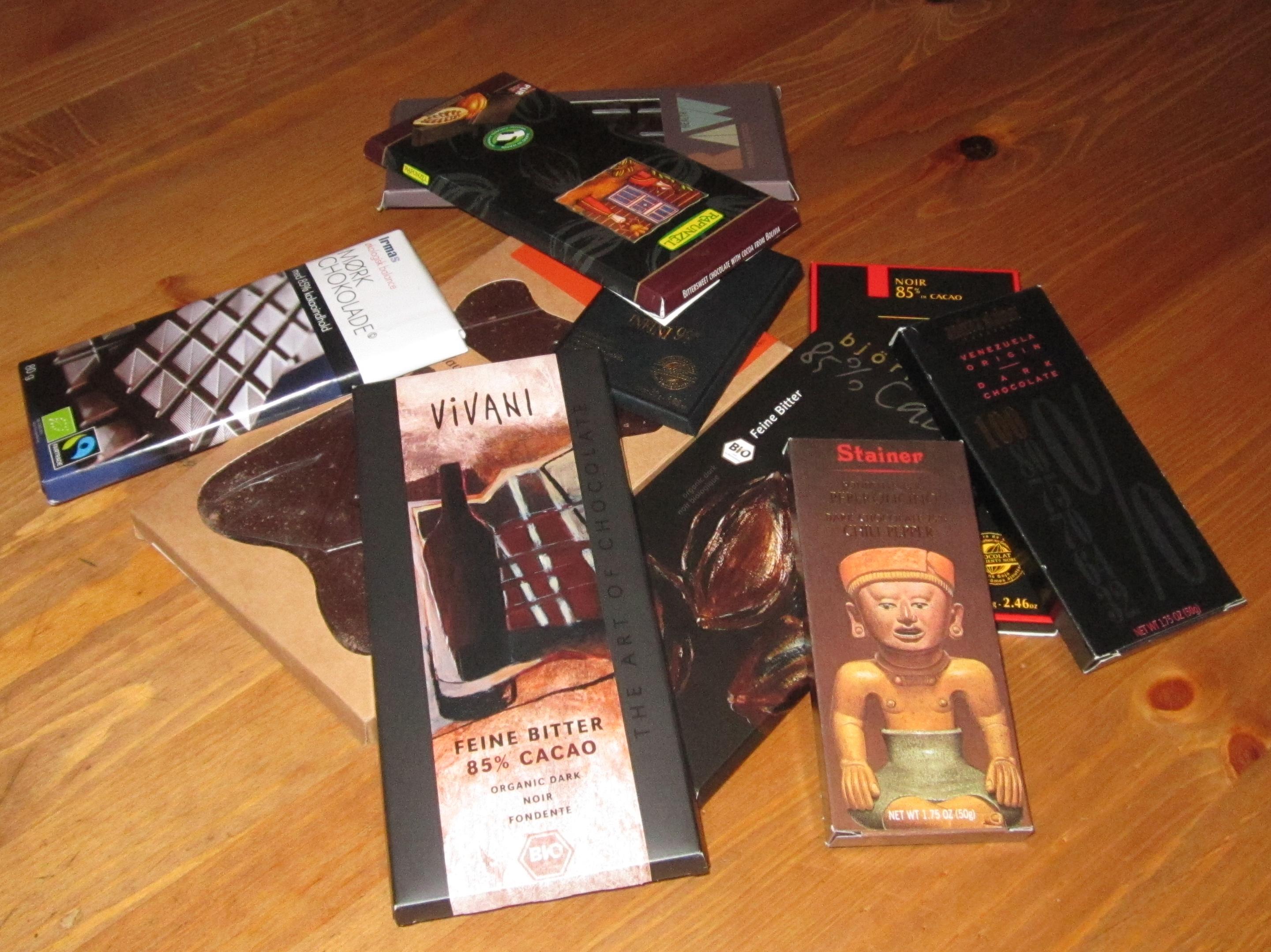 Chokolade er sundt, hvis du vælger den rigtige mørk chokolade
