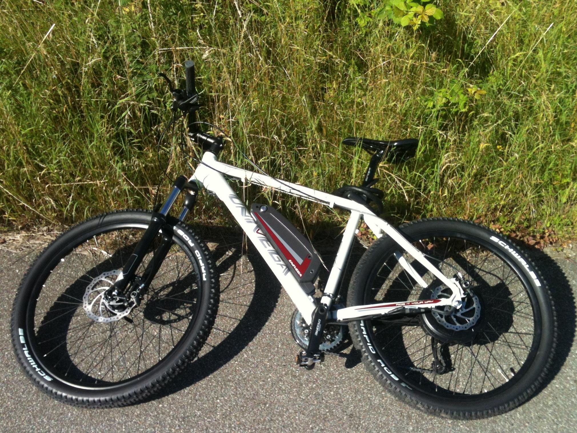 Gang i pedalerne II – to uger på elektrisk mountainbike (anmeldelse af Univega HT-E-50)