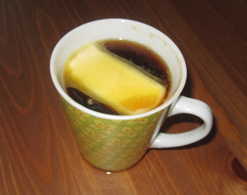 Tag en kop kaffe med masser af kalorier og andet godt