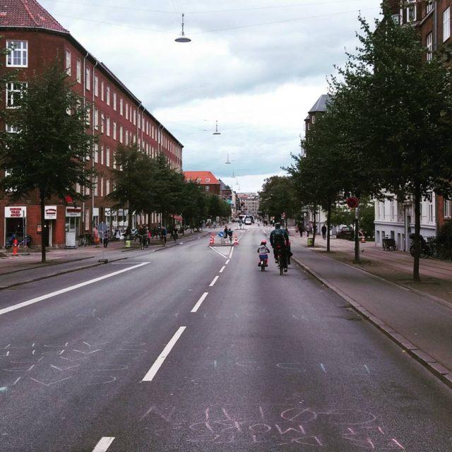 Farvel til trngslen Bilfri by og masser af plads pedalkrafthellip