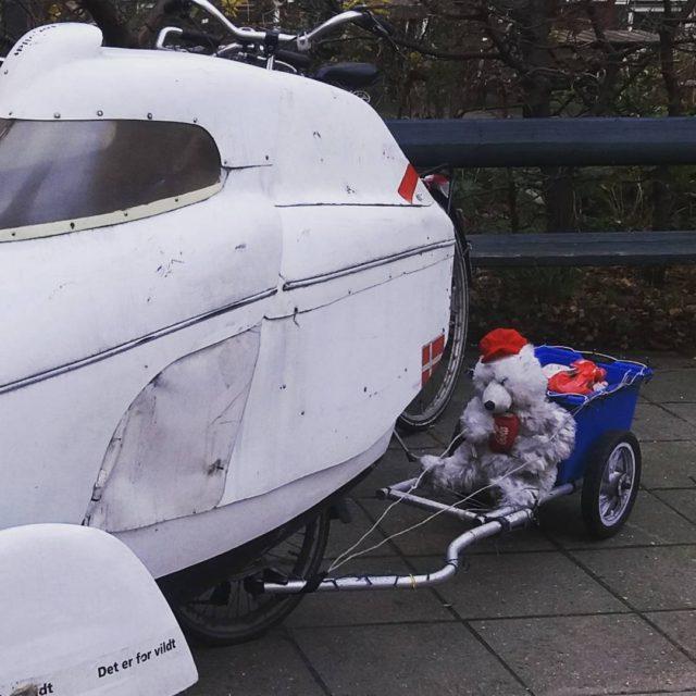 Julemandens hjlper krer p frihjul leitra kabinecykel velomobile baaw kitspirationhellip