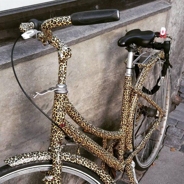 Vesterbros gadeleopard leopard bigcat leopardprint leopardpattern pedalkraft tacyklen bikelife bikepornhellip