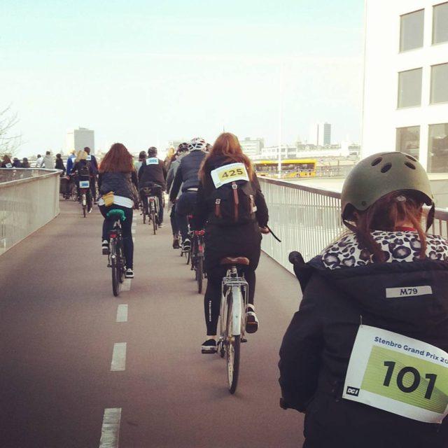 Stenbro Turen krydser Cykelslangen  dobbelt love stenbroturen stenbroturen2017 cykelslangenhellip